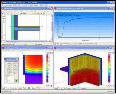 HEAT3 – Heat transfer in three dimensions – Buildingphysics com