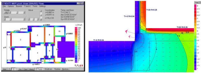 HEAT2 – Heat transfer in two dimensions – Buildingphysics com
